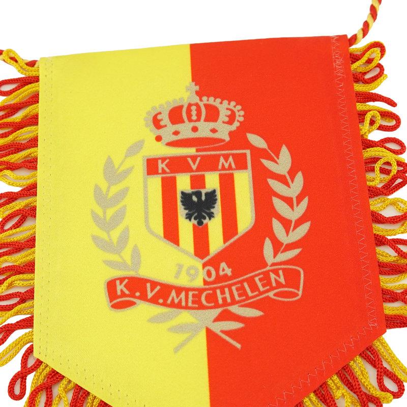 Topfanz Vaandel - klein geel/rood logo 11x15cm