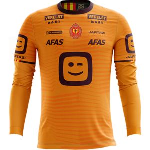 KVM Replica shirt 20-21 Orange