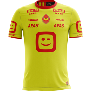 KVM Replica shirt 20-21 Fluo Yellow