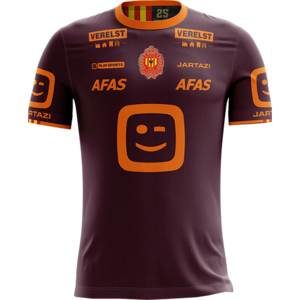 KVM Replica shirt 20-21 Bordeaux/Orange