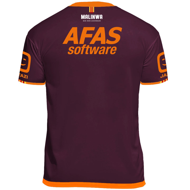 Jartazi KVM Replica shirt 20-21 Bordeaux/Orange