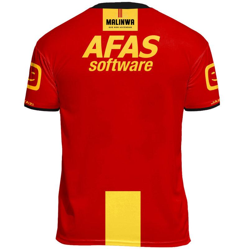 Jartazi KVM Replica shirt 20-21 Yellow/Red Kids