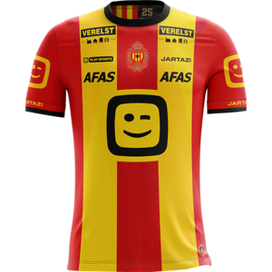 KVM Replica shirt 20-21 Yellow/Red Kids