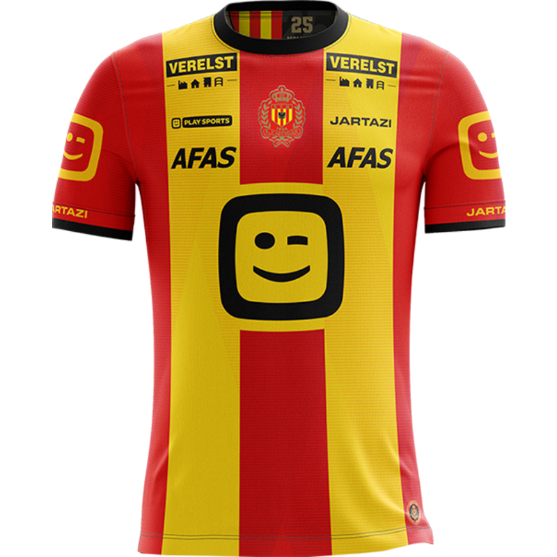 Jartazi KVM Replica shirt 20-21 Yellow/Red Kids