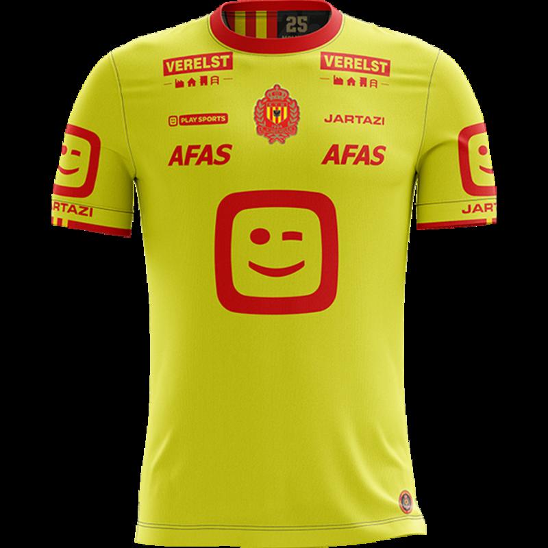 Jartazi KVM Replica shirt 20-21 Fluo Yellow Kids