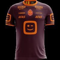 Jartazi KVM Replica shirt 20-21 Bordeaux/Orange Kids