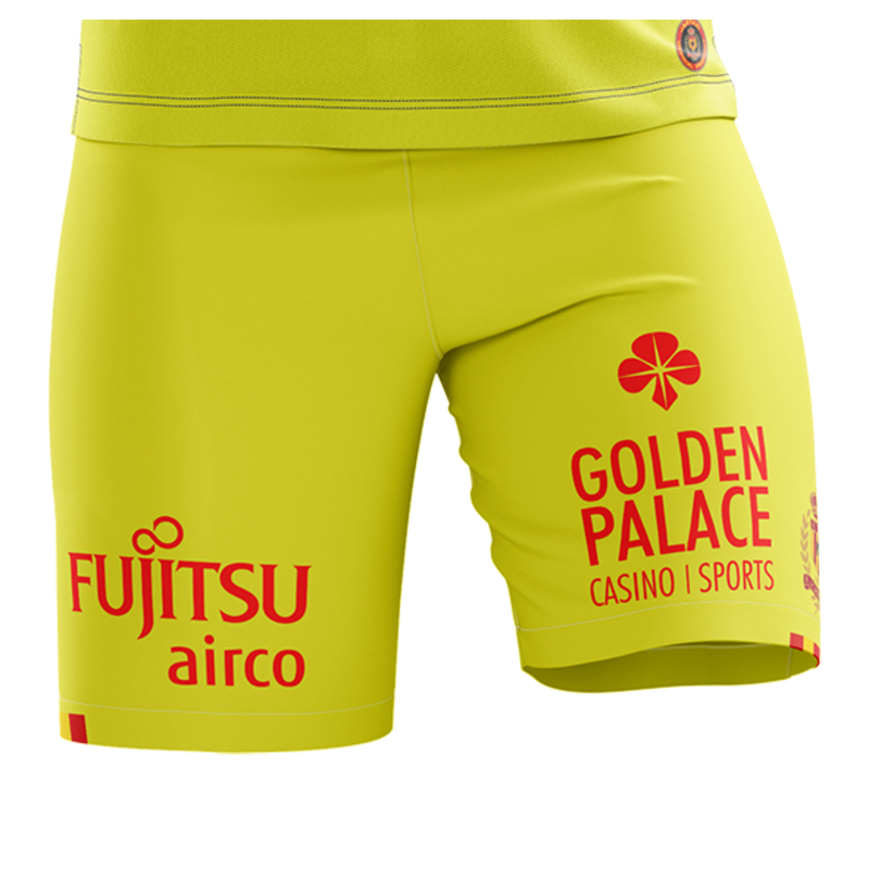 Jartazi KVM Replica short 20-21 Fluo Yellow Kids