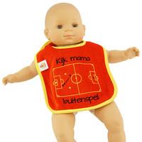 Topfanz Baby slabbetje Kijk mama Buitenspel