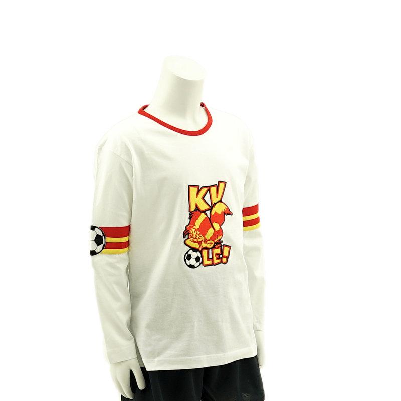 Topfanz White KV Ole t-shirt KV Mechelen