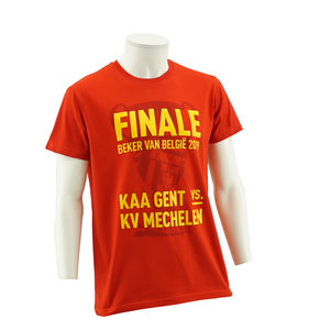 T-shirt cup final red