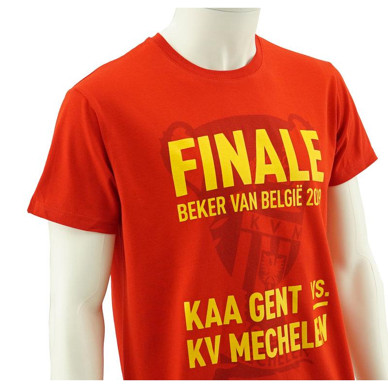 Topfanz T-shirt beker finale rood