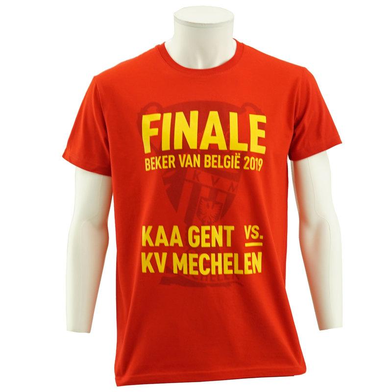 Topfanz T-shirt cup final rood