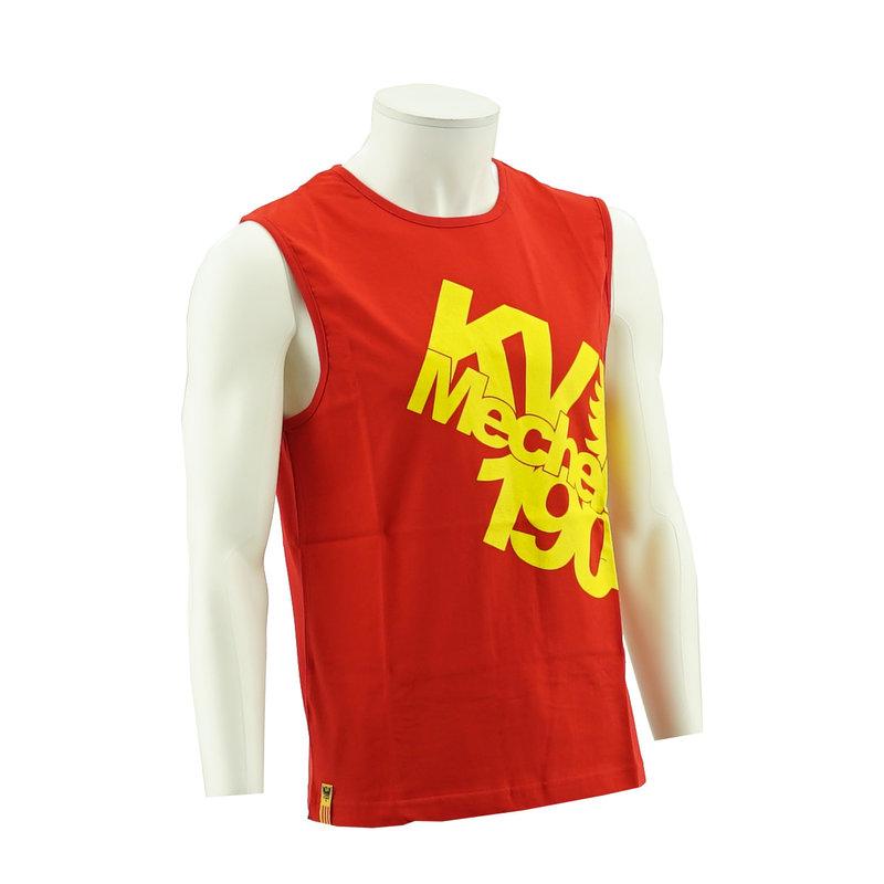 Topfanz T-shirt KV Mechelen Rood
