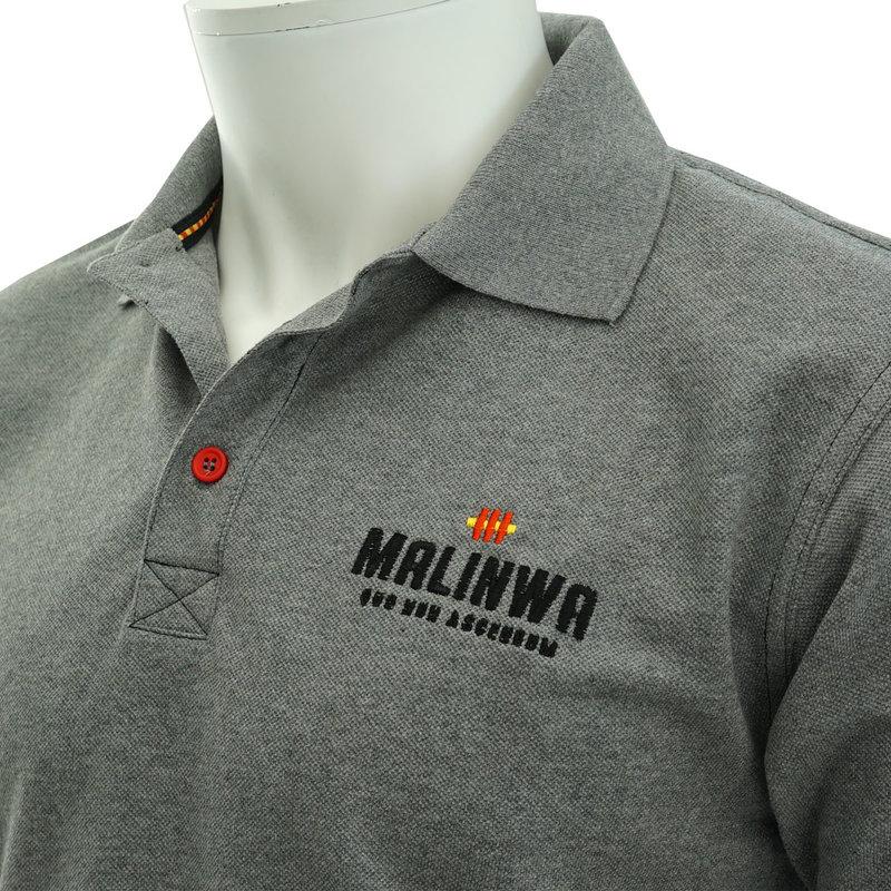 Topfanz Polo grijs MALINWA
