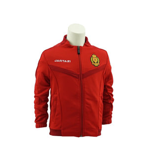 Torino Poly Terry Jacket JR Red/Dark Red