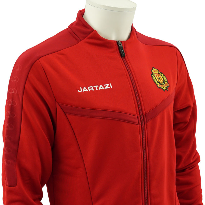 Jartazi Torino Poly Terry Jacket SR Red/Dark Red