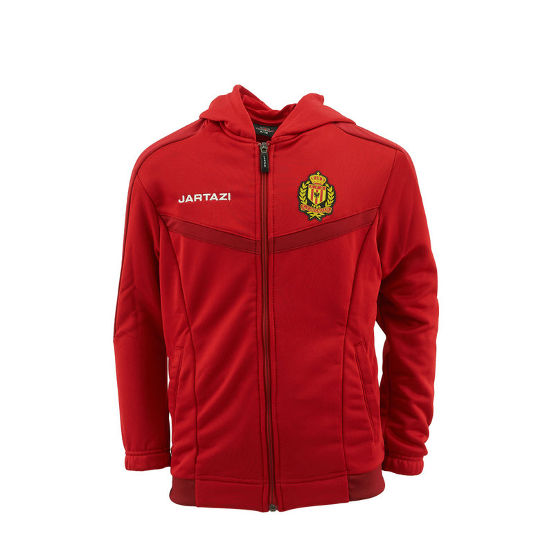 Jartazi Torino Hooded Jacket JR Red/Dark Red