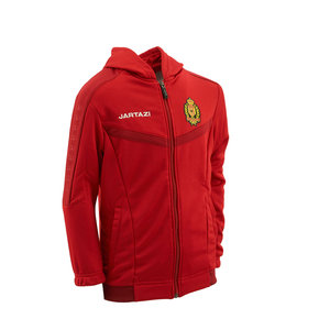 Torino Hooded Jacket JR Red/Dark Red