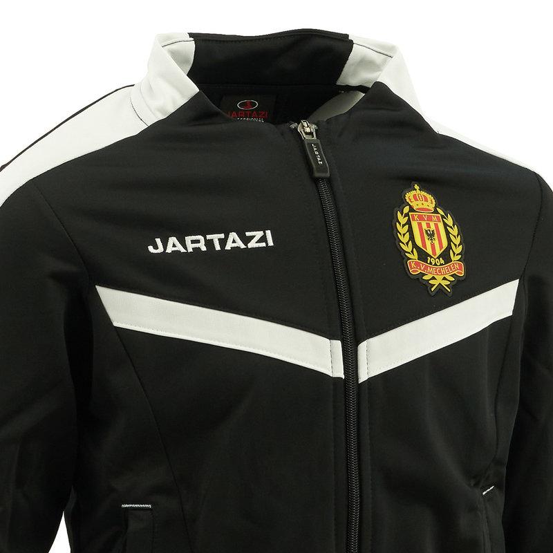Jartazi Torino Poly Training Jacket JR Black/White