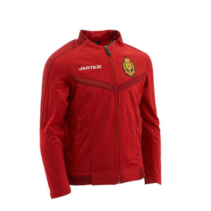 Torino Poly Training Jacket JR Red/Dark Red