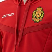 Jartazi Torino Hoody JR Red/Dark Red