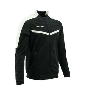 Torino Poly Training Jacket SR Black/White