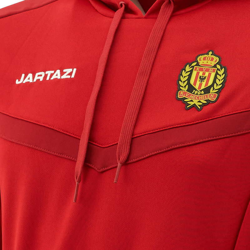 Jartazi Torino Hoody SR Red/Dark Red