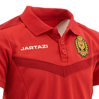 Jartazi Torino Polo JR Red/Dark Red