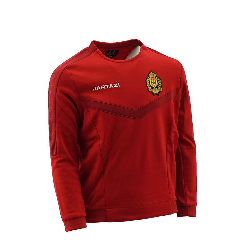 Jartazi Torino Round Neck Sweater JR Red/Dark Red