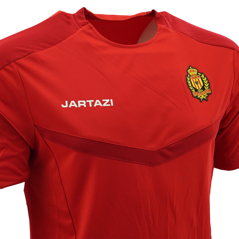 Jartazi Torino Poly T-Shirt Red/Dark Red  SR