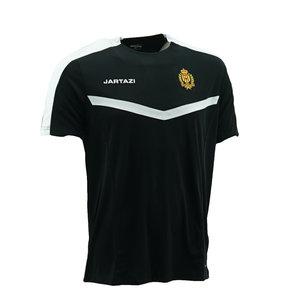 Torino Poly T-Shirt Black/White  SR