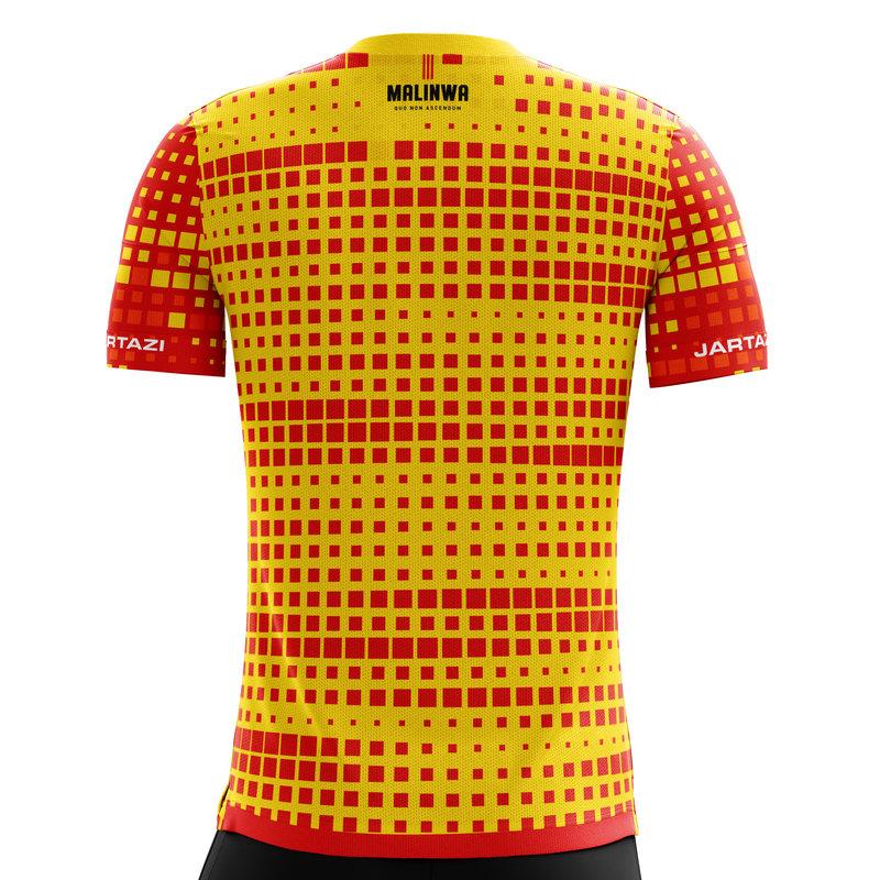 Jartazi KVM ESPORTS shirt 20-21 Yellow/Red