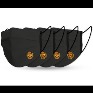 Mondmaskers  MALINWA (x4) zwart
