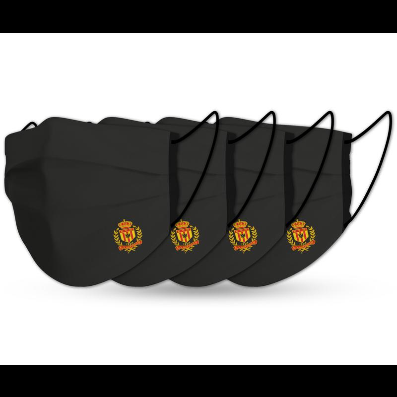 Topfanz Mondmaskers  MALINWA (x4) zwart