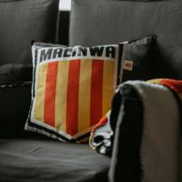 Topfanz Pillow 3D schield logo Malinwa