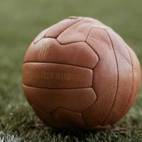 Topfanz Retro football 100% leather KV Mechelen