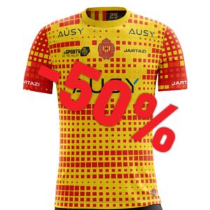 KVM ESPORTS shirt 20-21 Yellow/Red