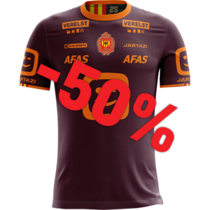 KVM Replica shirt 20-21 Bordeaux/Orange Kids