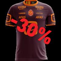 Jartazi KVM Replica shirt 20-21 Bordeaux/Orange