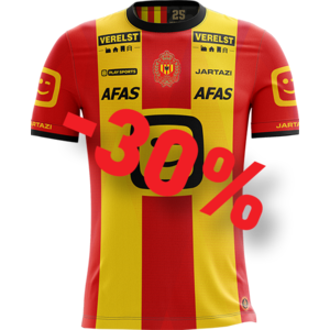 KVM Replica shirt 20-21 Yellow/Red