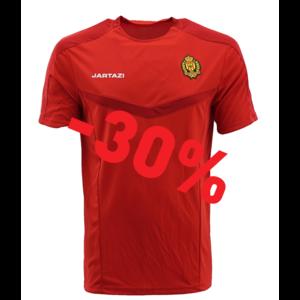 Torino Poly T-Shirt Red/Dark Red  JR