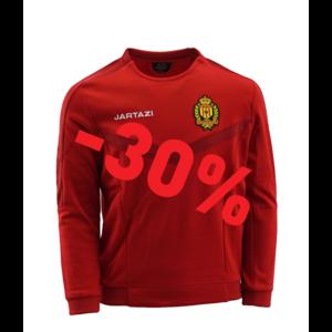 Torino Round Neck Sweater JR Red/Dark Red