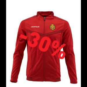 Torino Poly Training Jacket SR Red/Dark Red