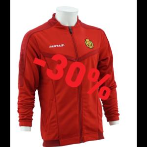 Torino Poly Training Jacket JR Red/Dark Red