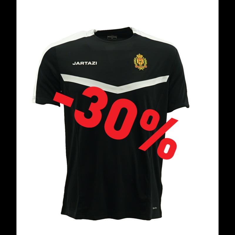 Jartazi Torino Poly T-Shirt Black/White  JR