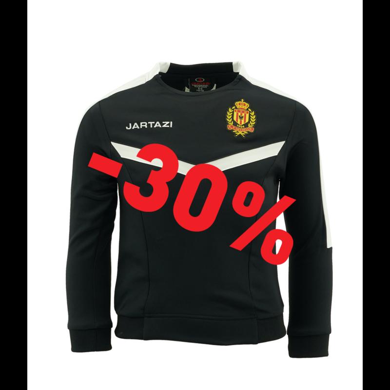 Jartazi Torino Round Neck Sweater JR Black/White