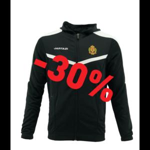 Torino Hooded Jacket JR Black/White