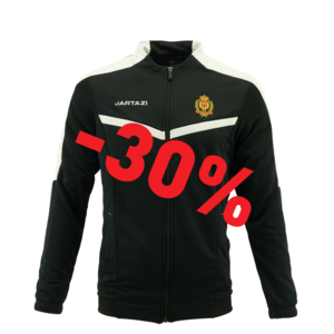 Torino Poly Training Jacket JR Black/White