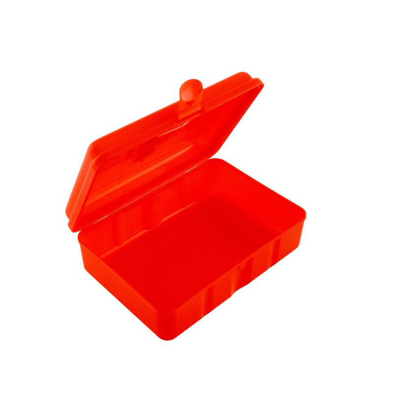Topfanz Lunch box red Logo yellow stripes