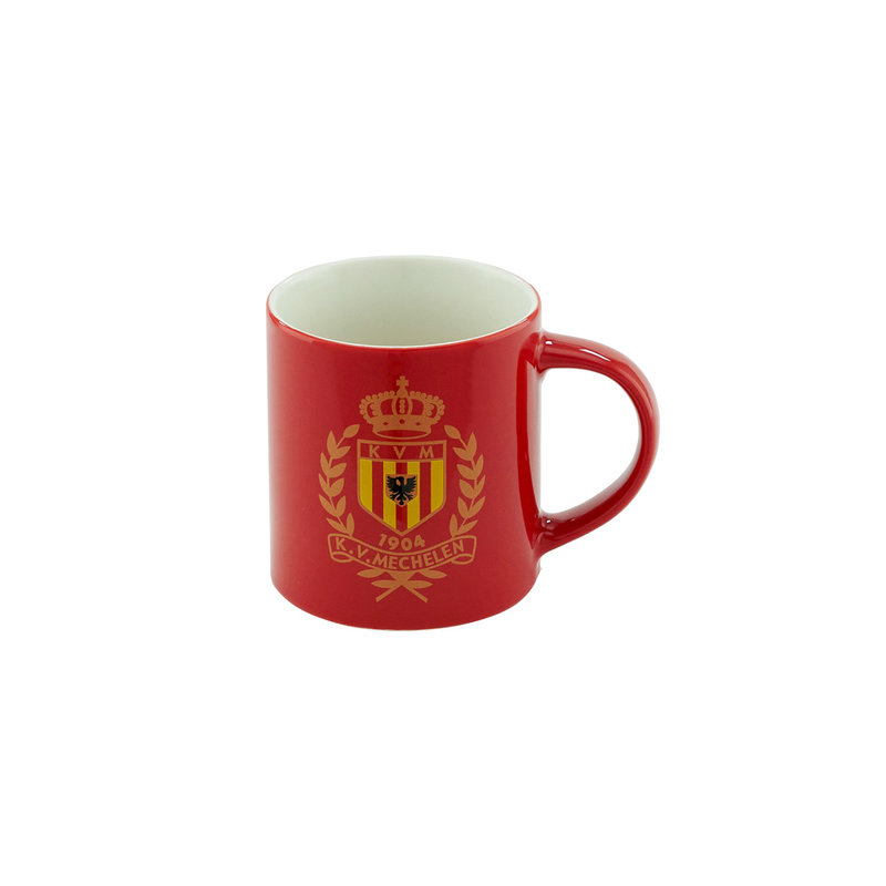 Topfanz Mok rood clubembleem -25